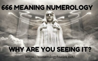 666 MEANING NUMEROLOGY: WHY ARE YOU SEEING IT?