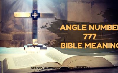 Angel Number 777 bible meaning