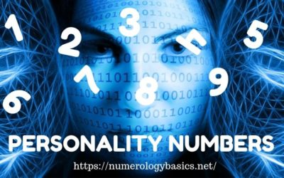 Personality Number Meaning 1 to 9