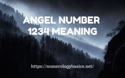 Angel Number 1234 Numerology Meaning