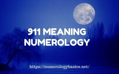 Angel Number 911 Meaning Numerology