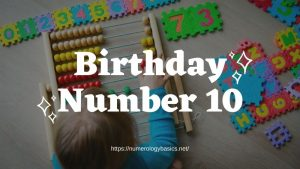 Numerology Birthday Number 9 or Gift Number 9