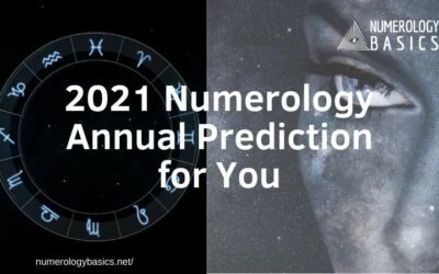 2021 Numerology Annual Prediction for Individuals