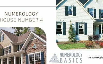 Numerology House Number 4