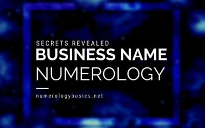 Business Name Numerology: How to Pick a Lucky Name